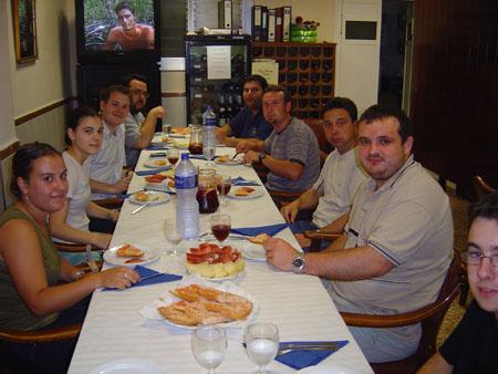 Imatges de l'article: Cloenda curs 2002/2003 a Benicàssim - Acudits